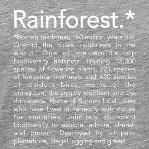 Rainforest definition - T-shirt Premium Homme