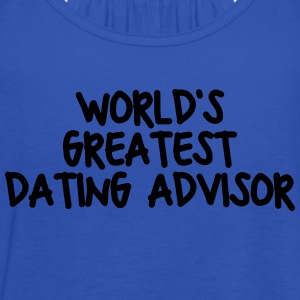 worlds greatest dating advisor - Women's Tank Top by Bella