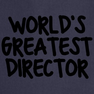 worlds greatest director - Cooking Apron