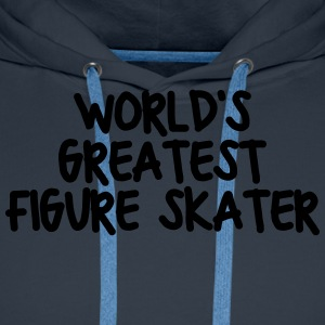worlds greatest figure skater - Men's Premium Hoodie