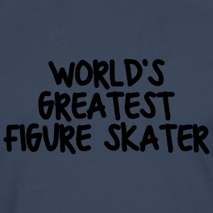 worlds greatest figure skater - Men's Premium Longsleeve Shirt