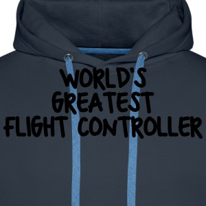 worlds greatest flight controller - Men's Premium Hoodie