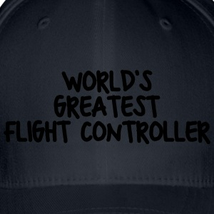 worlds greatest flight controller - Flexfit Baseball Cap