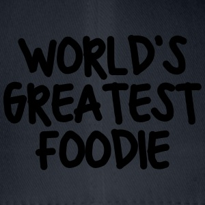 worlds greatest foodie - Flexfit Baseball Cap