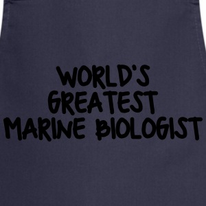 worlds greatest marine biologist - Cooking Apron