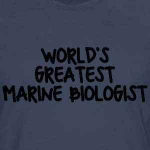 worlds greatest marine biologist - Men's Premium Longsleeve Shirt