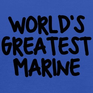 worlds greatest marine - Women's Tank Top by Bella