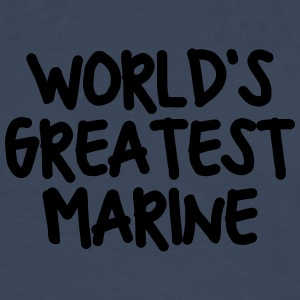 worlds greatest marine - Men's Premium Longsleeve Shirt
