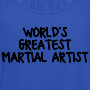worlds greatest martial artist - Women's Tank Top by Bella