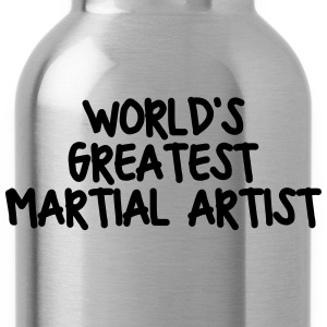 worlds greatest martial artist - Water Bottle