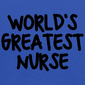 worlds greatest nurse - Women's Tank Top by Bella