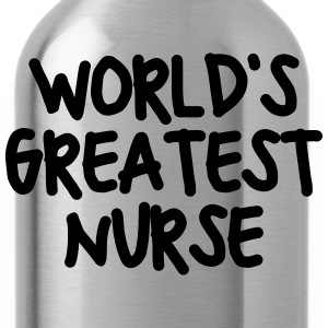 worlds greatest nurse - Water Bottle