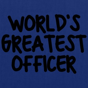 worlds greatest officer - Tote Bag