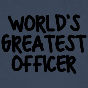 worlds greatest officer - Men's Premium Longsleeve Shirt