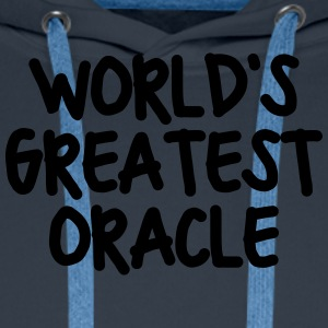 worlds greatest oracle - Men's Premium Hoodie