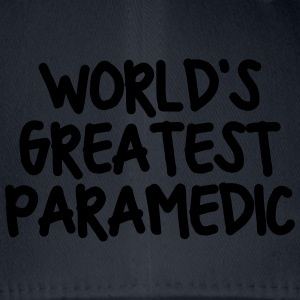 worlds greatest paramedic - Flexfit Baseball Cap