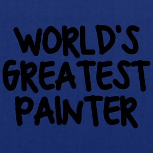 worlds greatest painter - Tote Bag