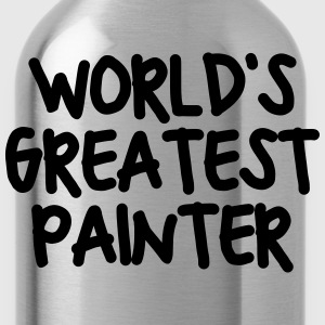 worlds greatest painter - Water Bottle
