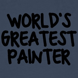 worlds greatest painter - Men's Premium Longsleeve Shirt