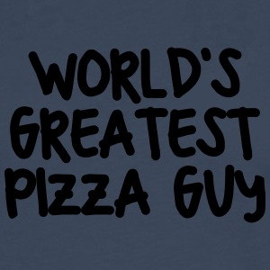 worlds greatest pizza guy - Men's Premium Longsleeve Shirt