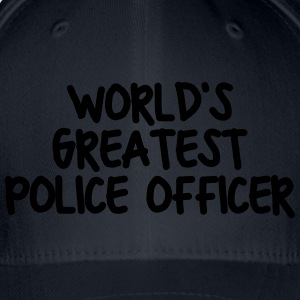 worlds greatest police officer - Flexfit Baseball Cap