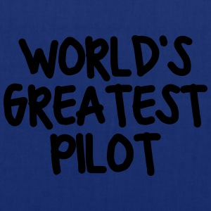 worlds greatest pilot - Tote Bag