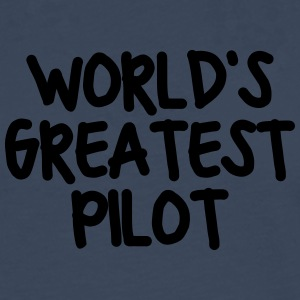 worlds greatest pilot - Men's Premium Longsleeve Shirt
