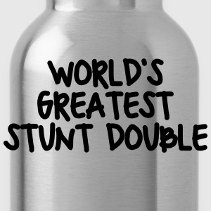worlds greatest stunt double - Water Bottle