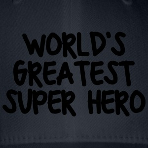 worlds greatest super hero - Flexfit Baseball Cap