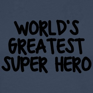worlds greatest super hero - Men's Premium Longsleeve Shirt