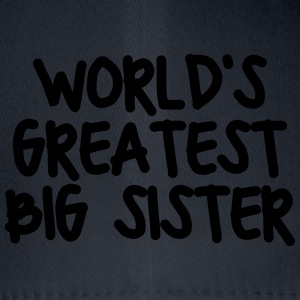worlds greatest big sister - Flexfit Baseball Cap
