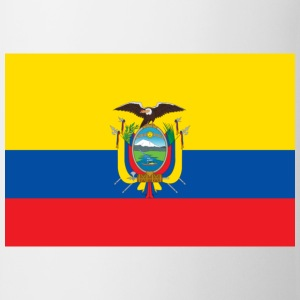 Nationale Ecuadors flag Baby-bodyer - Kop/krus