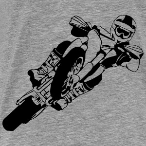 Supermoto Racing Hoodies & Sweatshirts - Men's Premium T-Shirt