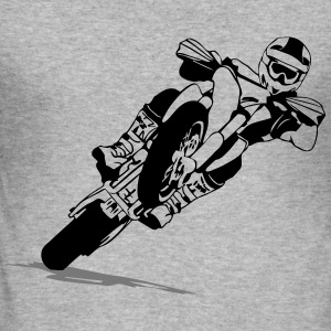 Supermoto Racing Tröjor - Slim Fit T-shirt herr
