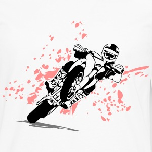 Supermoto Racing T-Shirts - Men's Premium Longsleeve Shirt