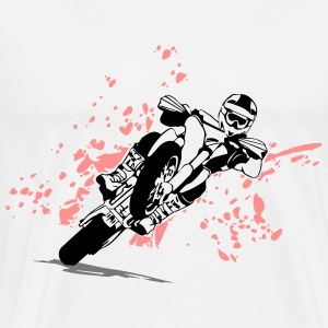 Supermoto Racing Sweaters - Mannen Premium T-shirt