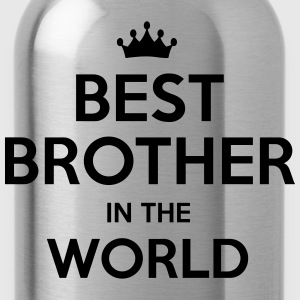 best brother in the world - Water Bottle