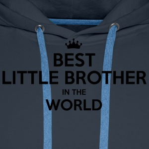 best little brother in the world - Men's Premium Hoodie