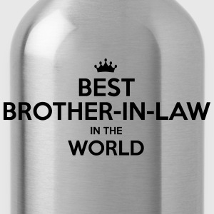 best brotherinlaw in the world - Water Bottle