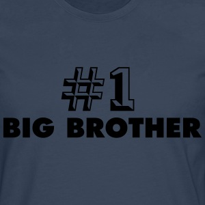 number one big brother - Men's Premium Longsleeve Shirt