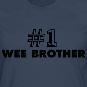 number one wee brother - Men's Premium Longsleeve Shirt