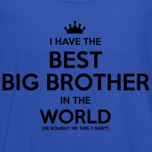 i have the best big brother in the world - Women's Tank Top by Bella
