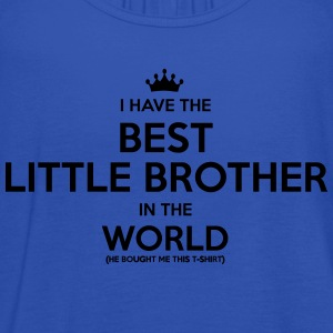 i have the best little brother in the wo - Women's Tank Top by Bella