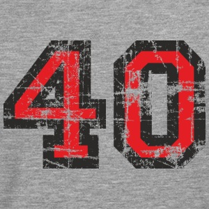 Number 40 Forty 40th Birthday Design (EU) T-Shirts - Men's Premium Longsleeve Shirt