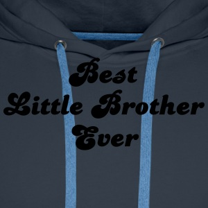 best little brother ever - Men's Premium Hoodie