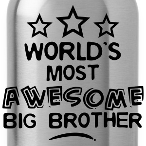 worlds most awesome big brother - Water Bottle