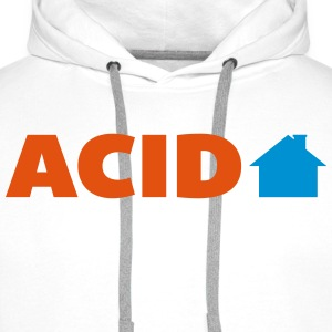 Acid House  T-skjorter - Premium hettegenser for menn
