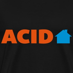 Acid House  Gensere - Premium T-skjorte for menn