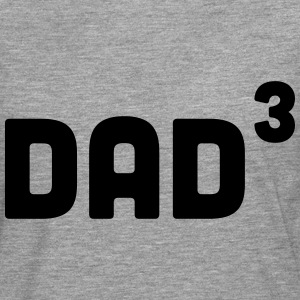 Dad Cubed / 3 Hoodies & Sweatshirts - Men's Premium Longsleeve Shirt