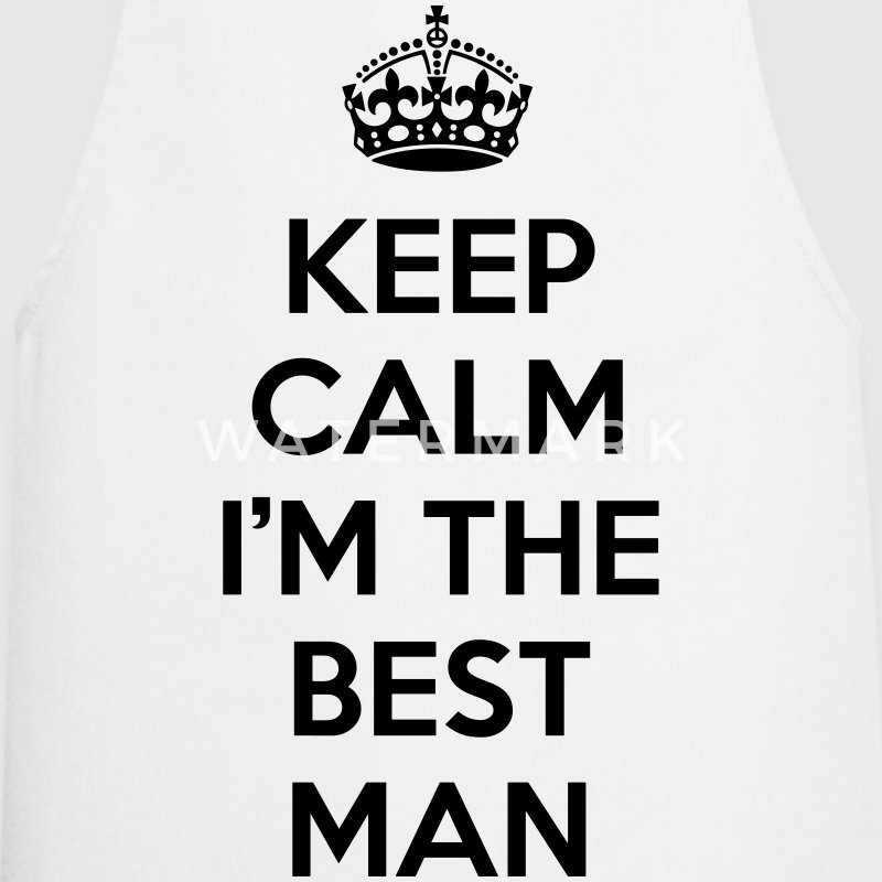 Kelp Calm Best Man  Aprons - Cooking Apron